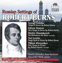 Russian Settings Of Burns