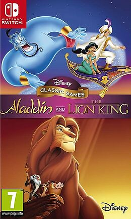 Disney Classic Games Aladdin and The Lion King [NSW] (D) als Nintendo Switch-Spiel