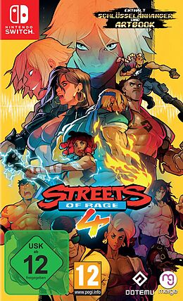 Streets of Rage 4 [NSW] (D/F/I) als Nintendo Switch-Spiel