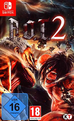 AoT 2 (based on Attack on Titan) [NSW] (D) als Nintendo Switch-Spiel