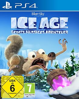 Ice Age: Scrats Nussiges Abenteuer [PS4] (D) als PlayStation 4-Spiel