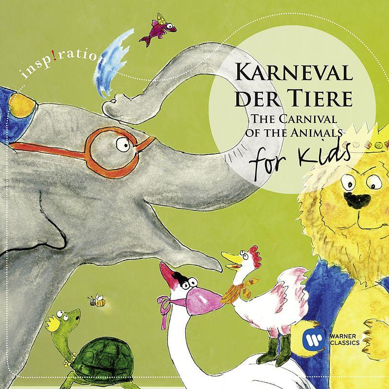 karneval der tierefor kids  various  cd kaufen