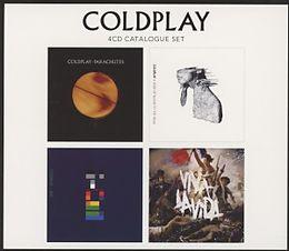 Coldplay CD 4 Cd Catalogue Set