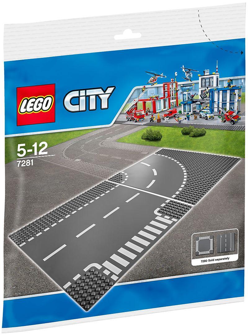 Lego city 7281 kurve t kreuzung - Developpement photo gratuit sans frais de port ...