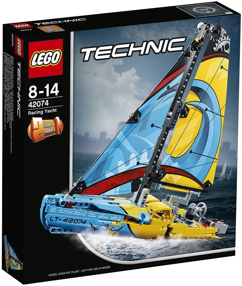lego technic 42074 rennyacht set f r ge bte baumeister sonstiges online kaufen. Black Bedroom Furniture Sets. Home Design Ideas
