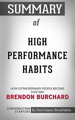 E-Book (epub) Summary of High Performance Habits von Paul Adams