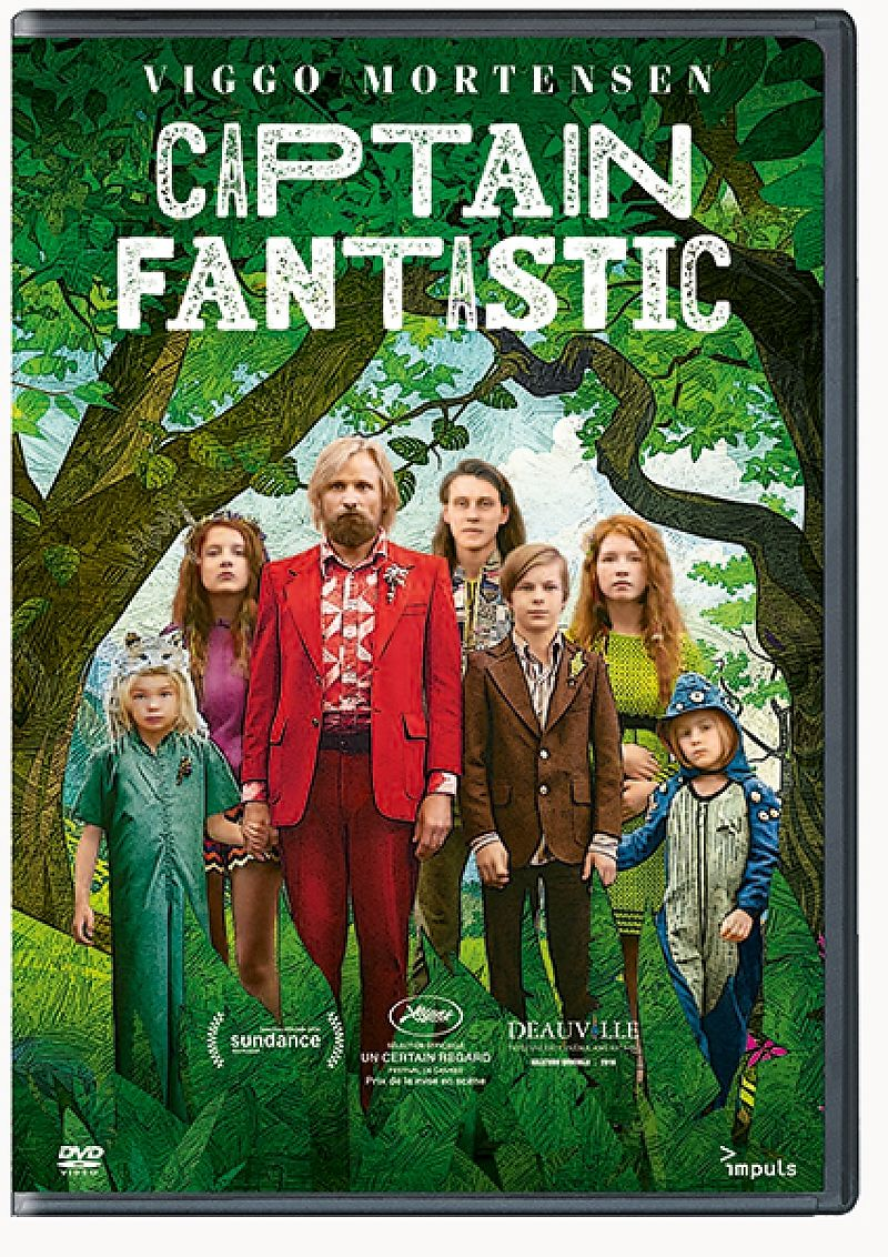 Captain Fantastic (f) [Versione tedesca]