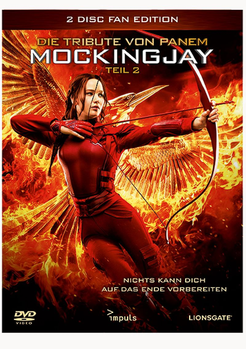 Die tribute von panem mockingjay 2 fan edition dvd online kaufen for Die tribute von panem 2
