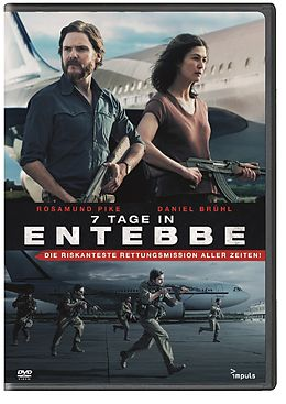 7 Tage in Entebbe Cover