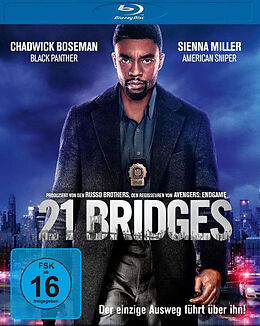 21 Bridges Blu Ray Blu-ray