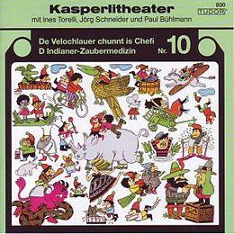Kasperlitheater : de Velochlauer chunnt is Chefi : d' Indianer - Zaubermedizin Cover