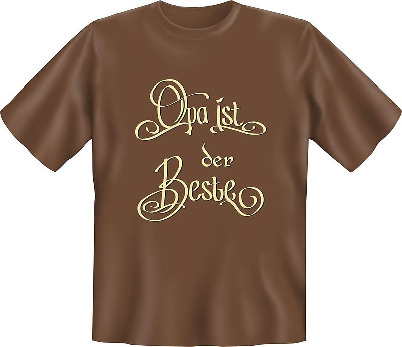 Opa Ist Der Beste T Shirt M Sprüche T Shirts Online Kaufen
