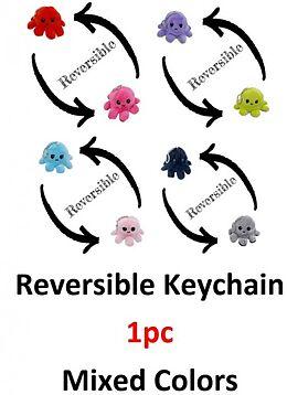 Mood Octopus Keychain / Plüsch-Schlüsselanhänger assort. Spiel