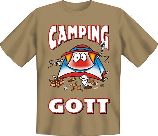 Camping Gott L Spruche T Shirts Online Kaufen Ex Libris