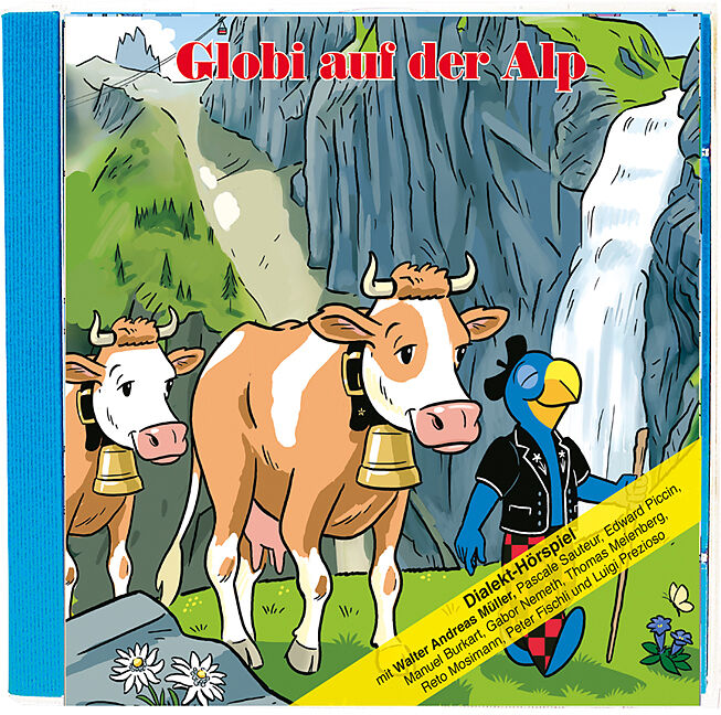 Globi Auf Der Alp