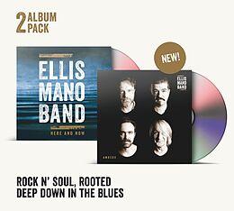 Ellis Mano Band CD Ambedo+here And Now (2cd-pack)