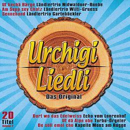 Various CD Urchigi Liedli Das Original