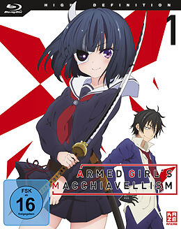 Armed Girls Machiavellism Blu-ray