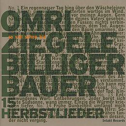 Omri/+ Ziegele CD Billiger Bauer-15 Herbstlieder