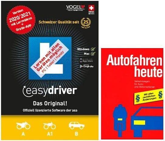 easydriver 2020/21 inkl. Theoriebuch Deutsch [PC/Mac] (D)