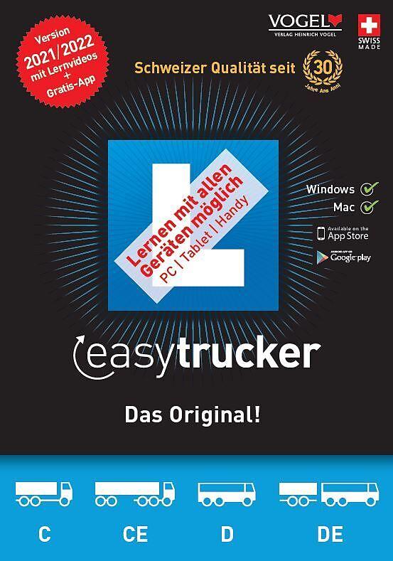easytrucker 2021/22 [Kat. C/CE+D/DE] [PC/Mac] (D/F/I)