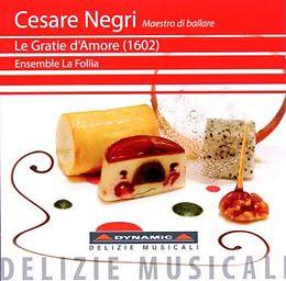 Ensemble La Follia CD Gratie D'amore