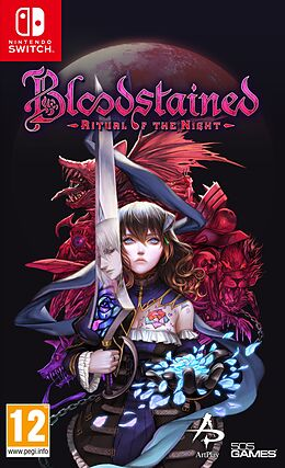 Bloodstained - Ritual of the Night [NSW] (D) als Nintendo Switch-Spiel
