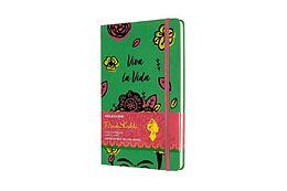 Blankobuch geb Moleskine Notizbuch - Frida Kahlo, Large/A5, Liniert, Fester Einband, Grün von Frida Kahlo