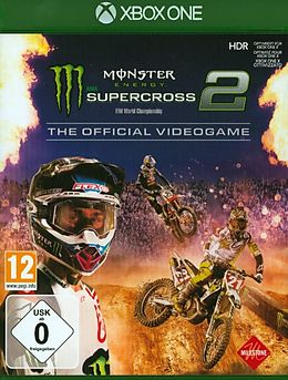 Monster Energy Supercross - The Official Videogame 2 [XONE] (D/F/I) als Xbox One-Spiel