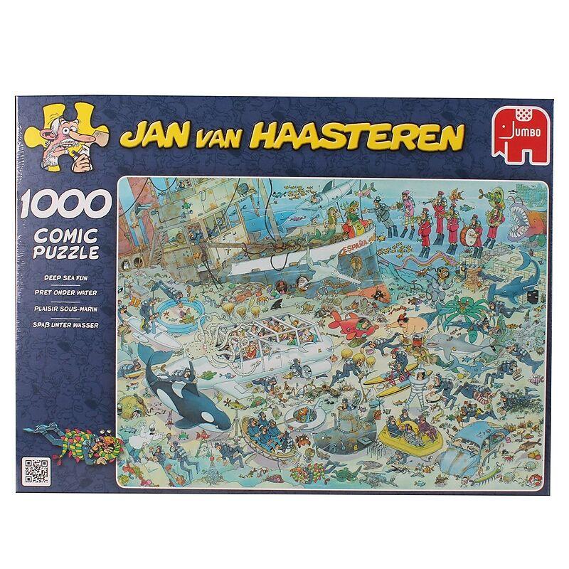 Geduldspiel Unterwasserwelt Puzzle 1000 Teile Spiel Deutsch 2011