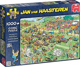 Puzzle 1000 Teile Spiel Deutsch 2015 Jan van Haasteren Rasenmäherrennen