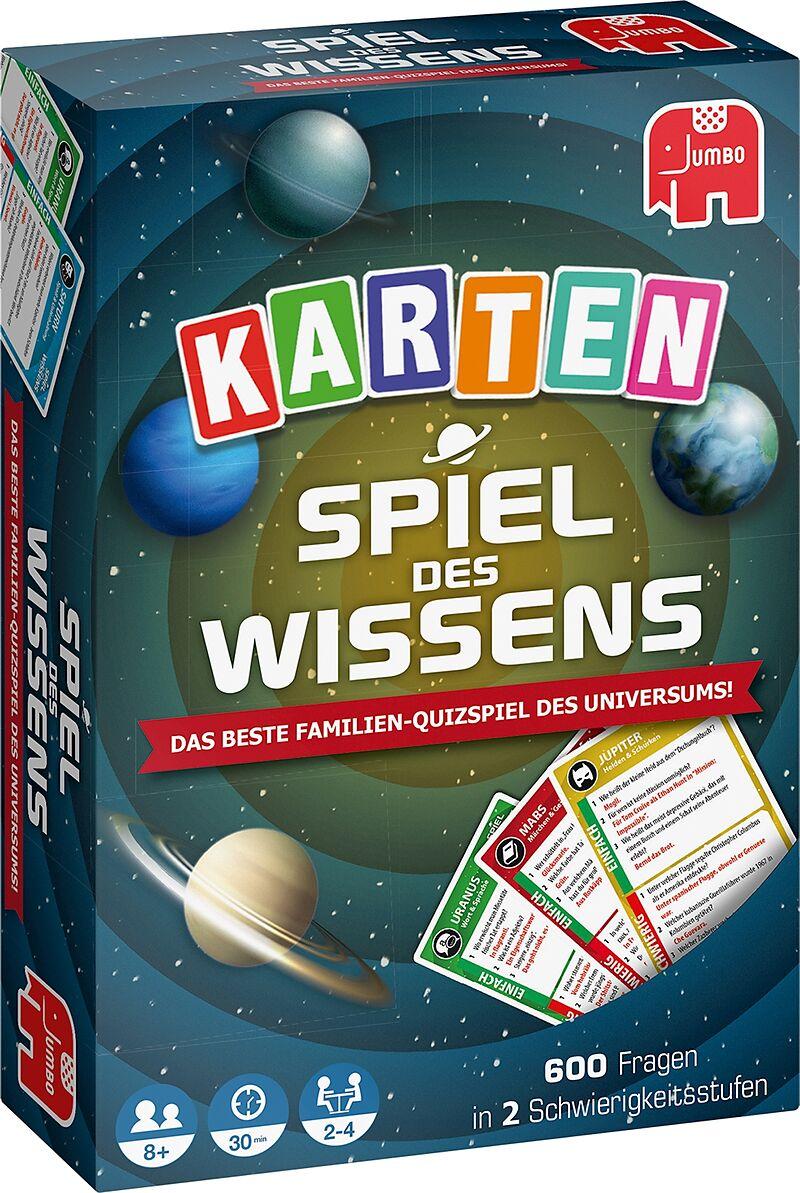 Jumbo 19598 Spiel Des Wissens Kartenspiel Familienspiel