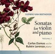 Carlos/Lorenzo,Ruben Damas CD Sonaten Für Violine Und Klavier Vol.1