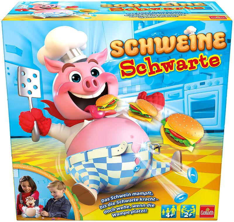 Kinderspiel Schweineschwarte