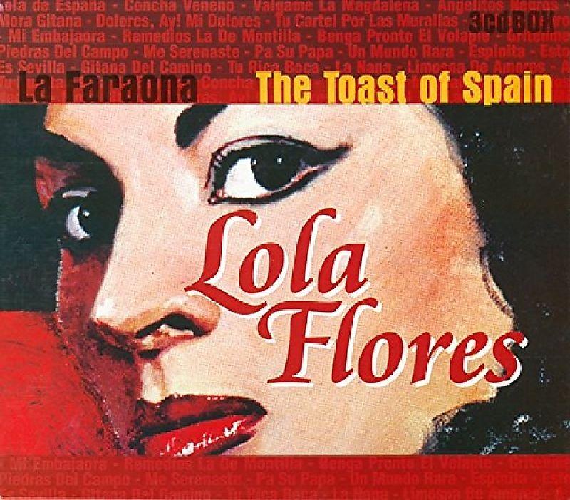 Toast Of Spain, La Faraona (3 Cd's For 1)