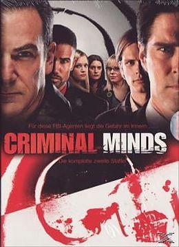 Criminal Minds - Season 02 DVD