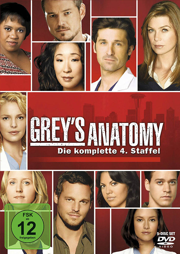 Greys Anatomy - Die jungen Ärzte - Season 4 - DVD - online kaufen ...