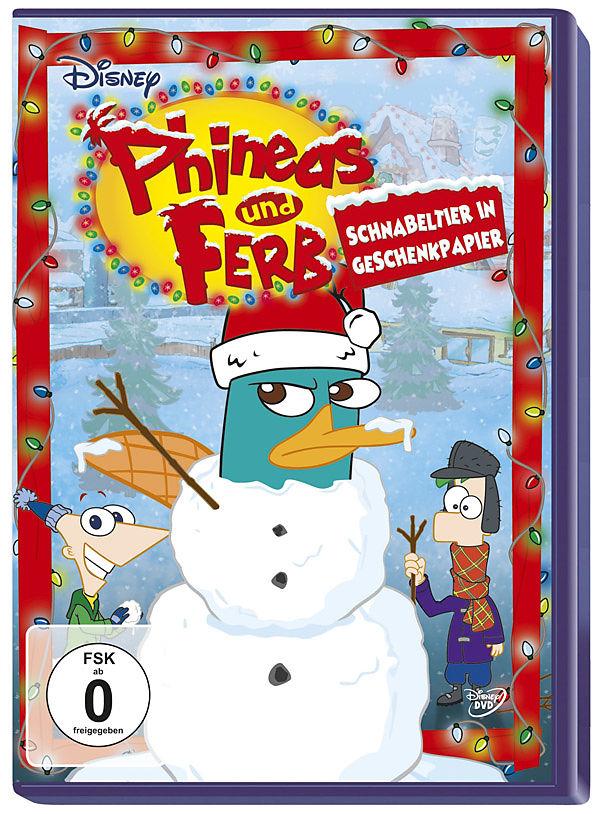Phineas und Ferb - Schnabeltier in Geschenkpapier - DVD - online ...