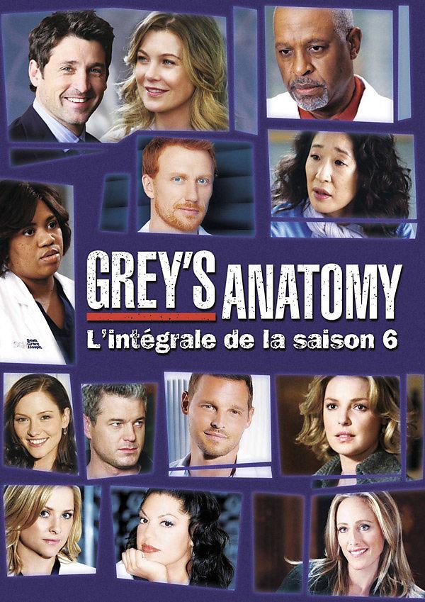 Greys Anatomy Saison 6 Dvd Online Kaufen Ex Libris