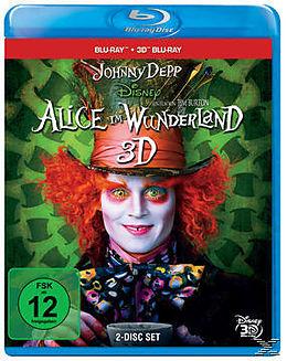Alice im Wunderland 3D Blu-ray 3D