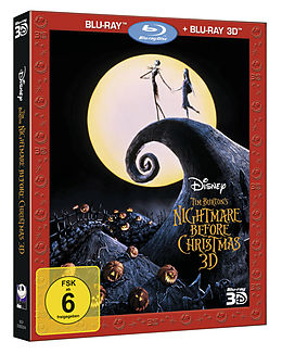 Nightmare Before Christmas - 3d+2d Blu-ray
