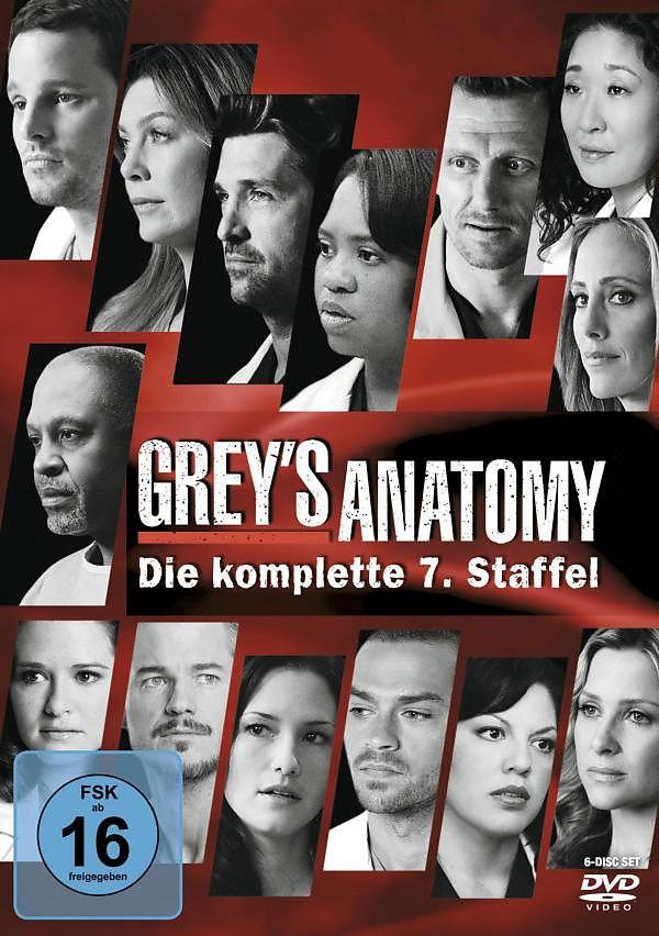 Greys Anatomy - Die jungen Ärzte - Season 7 - DVD - online kaufen ...