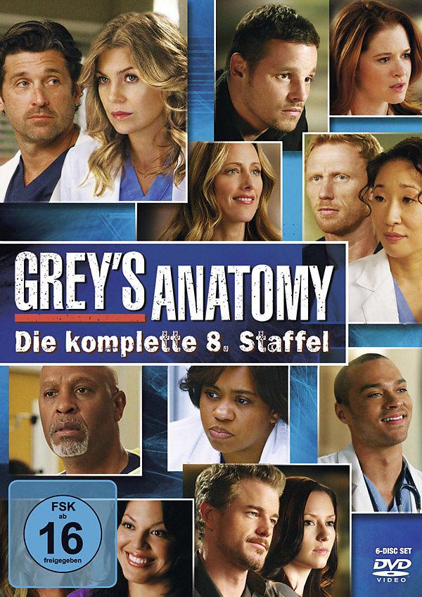 Greys Anatomy - Die jungen Ärzte - Season 8 - DVD - online kaufen ...