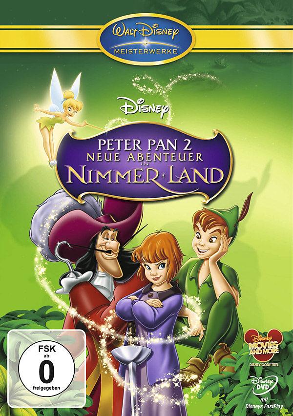 Peter Pan 2 Neue Abenteuer In Nimmerland Dvd Online Kaufen