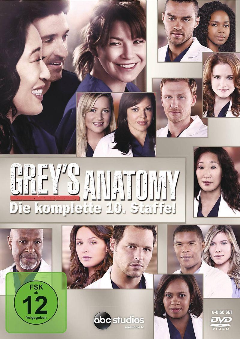 Greys Anatomy - Die jungen Ärzte - Season 10 - DVD - online kaufen ...