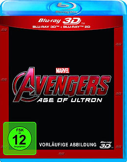 Avengers - Age of Ultron 3D Blu-ray 3D