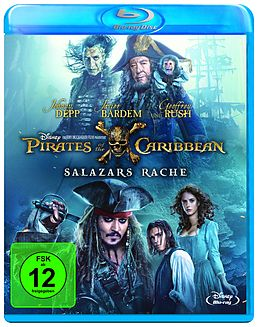 Pirates of the Caribbean - Salazars Rache Blu-ray