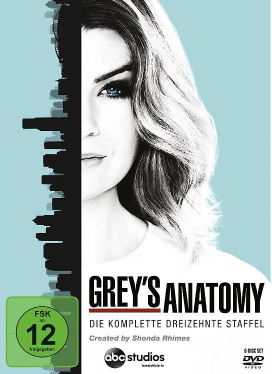 Grey\'s Anatomy - 13. Staffel - DVD - online kaufen | exlibris.ch