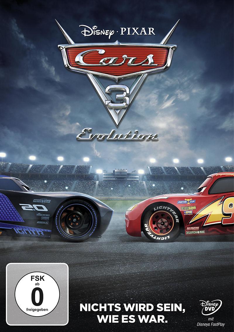 Cars 3 Evolution Dvd Online Kaufen Ex Libris