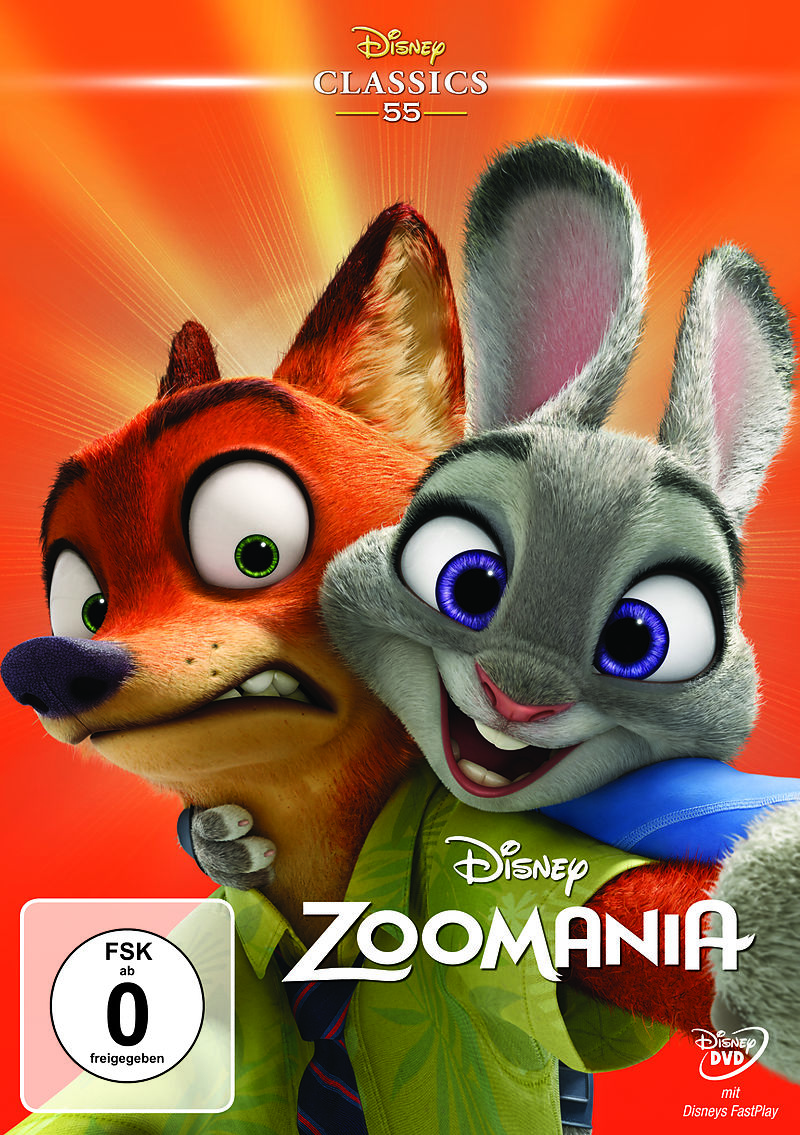 79e562b65ac0d7 Zoomania - DVD - online kaufen | Ex Libris